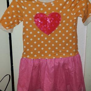 Super cute sweatshirt/tutu dress